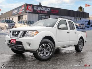 Used 2018 Nissan Frontier PRO-4X,4X4,NAVI,LEATHER,PWR S/ROOF,REARVIEW CAM for sale in Barrie, ON