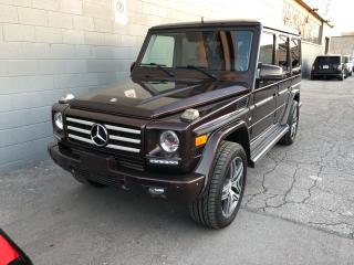 Used 2013 Mercedes-Benz G-Class G 550 for sale in North York, ON