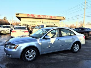 Used 2007 Hyundai Sonata SUNROOF|POWERMIRRORS| for sale in Mississauga, ON
