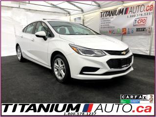 Used 2018 Chevrolet Cruze 2-LT-Camera-Sunroof-Heated Power Seats-Blind Spot- for sale in London, ON