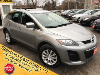 Used 2010 Mazda CX-7 GT/ LEATHER/ SUNROOF/ ALLOYS/ FULLY LOADED! for sale in Scarborough, ON