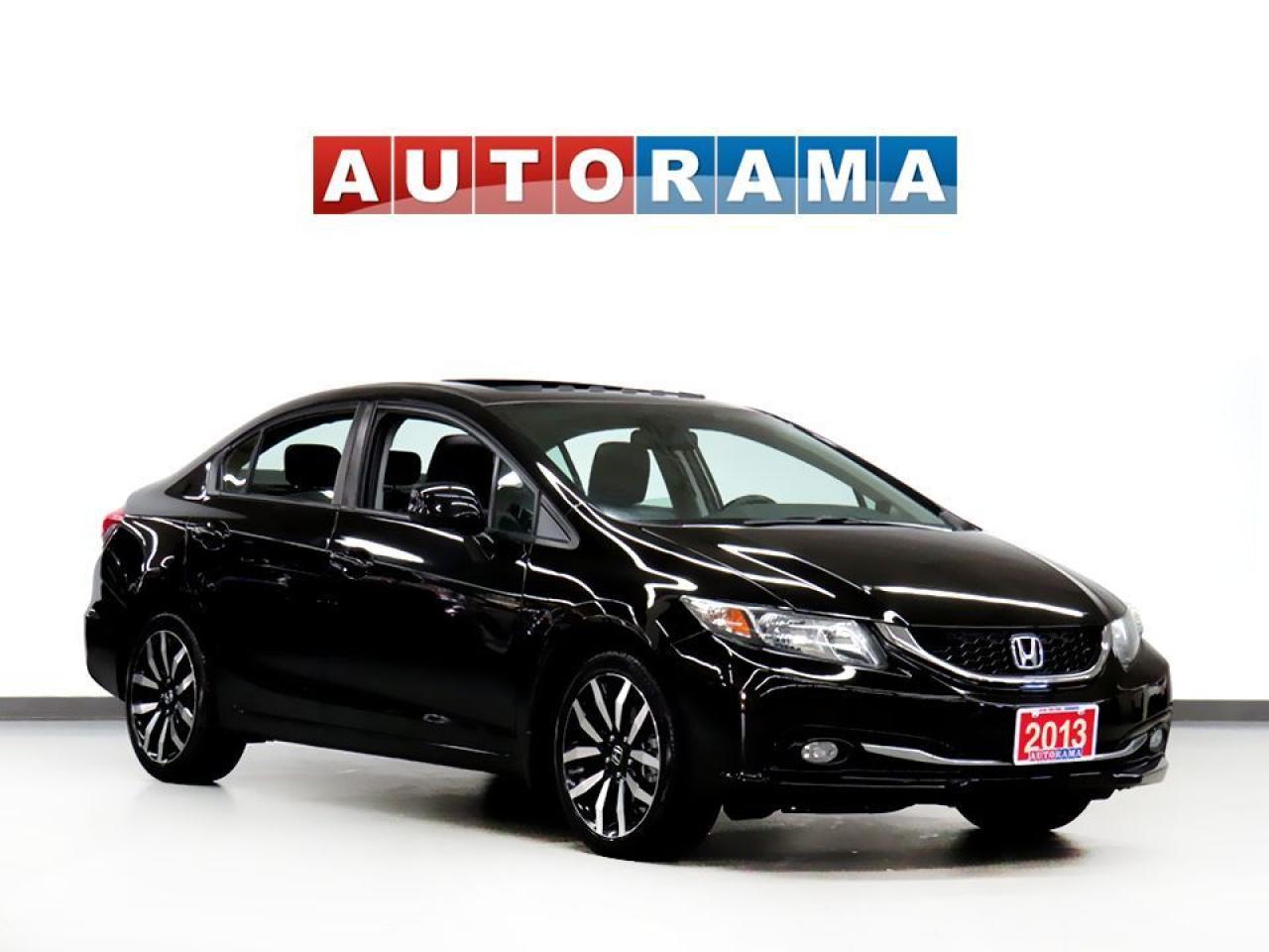 2013 Honda Civic TOURING PKG NAVIGATION LEATHER SUNROOF BACK UP CAM