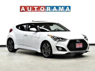 Used 2016 Hyundai Veloster NAVIGATION LEATHER PANORAMIC SUNROOF BACK UP CAM for sale in Toronto, ON