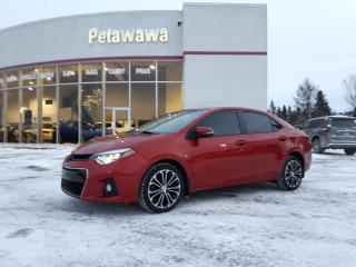 Used 2014 Toyota Corolla S for sale in Pembroke, ON