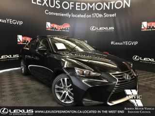 New 2019 Lexus IS 300 Standard Package for sale in Edmonton, AB