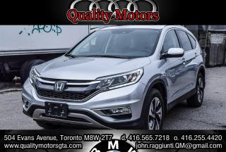 Used 2015 Honda CR-V Touring for sale in Etobicoke, ON