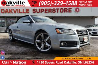 Used 2010 Audi A5 2.0T | S-LINE | RARE FIND | LOW KM for sale in Oakville, ON