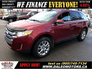 Used 2013 Ford Edge Limited|LEATHER|HEATED SEATS|BACKUP CAM for sale in Hamilton, ON