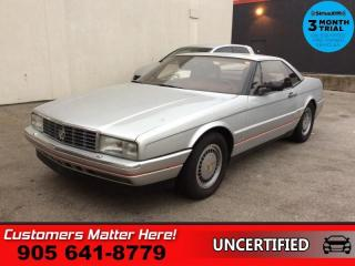 Used 1987 Cadillac Allante for sale in St. Catharines, ON