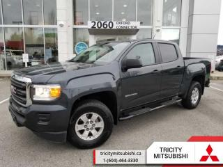 Used 2017 GMC Canyon 2WD  CREW CAB-ON STAR-BACK UP CAMERA for sale in Port Coquitlam, BC