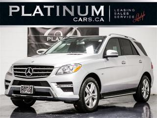 Used 2012 Mercedes-Benz ML 350 BlueTEC, NAVI, PANO, CAM, HEATED LTHR for sale in Toronto, ON