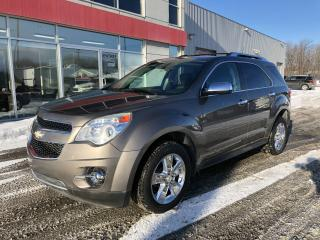 Used 2012 Chevrolet Equinox EQUINOX LTZ TRACTION AVANT for sale in Terrebonne, QC
