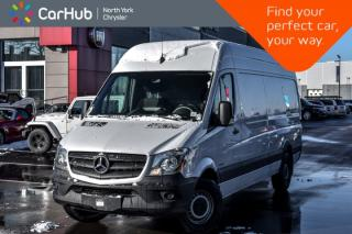 Used 2016 Mercedes-Benz Sprinter Cargo Vans  Diesel Backup Cam Bluetooth Keyless_Entry  for sale in Thornhill, ON