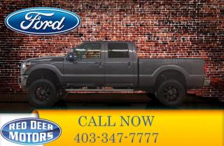 Used 2015 Ford F-250 4x4 Crew Cab Lariat Lift Nav Roof for sale in Red Deer, AB