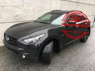 Used 2015 Infiniti QX70 3.7 Sport SPORT PACKAGE, FULLY LOADED for sale in Vancouver, BC