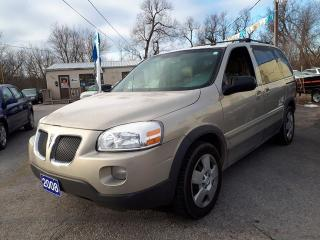 Used 2008 Pontiac Montana Sv6 w/1SA,Certified,3rd row ! for sale in Oshawa, ON