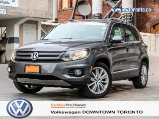 Used 2016 Volkswagen Tiguan Highline 4MOTION for sale in Toronto, ON