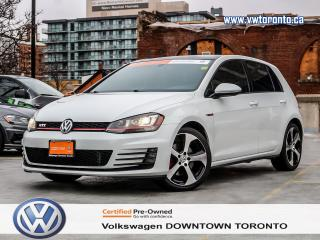 Used 2015 Volkswagen GTI GTI AUTOBAHN DSG AUTO for sale in Toronto, ON
