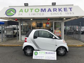Used 2014 Smart fortwo PURE BLUETOOTH! LOW KM'S! YOU WORK/YOU DRIVE! for sale in Langley, BC