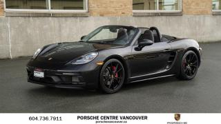 Used 2018 Porsche Boxster 718 GTS PDK | PORSCHE CERTIFIED for sale in Vancouver, BC