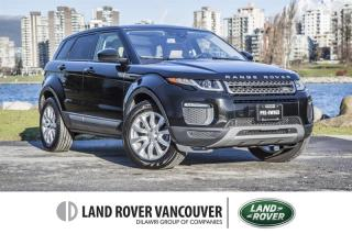 Used 2017 Land Rover Evoque SE *Certified Pre-Owned 6yr/160,000km Warranty!  Accident Free! for sale in Vancouver, BC