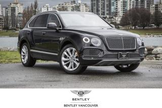 Used 2017 Bentley Bentayga W12 *Bentley Certified for sale in Vancouver, BC