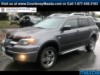 Used 2006 Mitsubishi Outlander SE AWD Sportronic for sale in Courtenay, BC