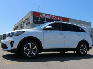 New 2019 Kia Sorento EX V6 AWD 0% | 3rd Row| Leather| Blindspot Detect for sale in Grimsby, ON