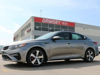 New 2019 Kia Optima 2.0L SX| GPS Navi| Lane Keep| Leather| Sunroof for sale in Grimsby, ON
