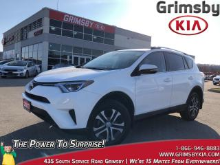 Used 2017 Toyota RAV4 LE  AWD  Backup Cam  Heat Seat  Bluetooth for sale in Grimsby, ON