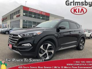 Used 2017 Hyundai Tucson SE |Pano Sunroof |Leather |AWD for sale in Grimsby, ON