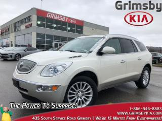 Used 2012 Buick Enclave CXL1| DVD| Heat Seat| Leather| Sunroof for sale in Grimsby, ON
