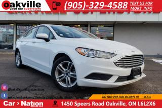 Used 2018 Ford Fusion SE | HTD SEATS | B/U CAM | SUNROOF | WHY BUY NEW? for sale in Oakville, ON