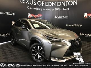 Used 2015 Lexus NX 200t F SPORT SERIES 1 for sale in Edmonton, AB
