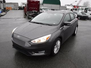 Used 2018 Ford Focus Titanium Hatchback for sale in Burnaby, BC