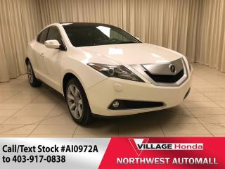 Used 2010 Acura ZDX Tech - Nav/AWD for sale in Calgary, AB