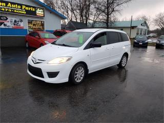 Used 2009 Mazda MAZDA5 123k Safetied 6 pass we finance GS for sale in Madoc, ON