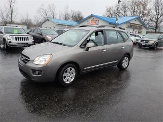 Used 2009 Kia Rondo w/3rd Row 113k Safetied we finance EX w/3rd Row for sale in Madoc, ON