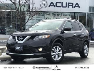 Used 2016 Nissan Rogue SV AWD CVT 360 Cam, Pano Roof, Navi, Pwr Trunk for sale in Markham, ON