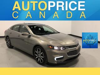 Used 2018 Chevrolet Malibu LT MOONROOF|NAVIGATION|LEATHER for sale in Mississauga, ON