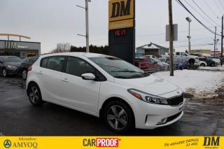 Used 2018 Kia Forte5 LX for sale in Salaberry-de-Valleyfield, QC