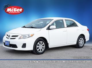 Used 2011 Toyota Corolla CE 1.8L, Automatic, Clth Bkts, Rear Folding Seat for sale in Peterborough, ON