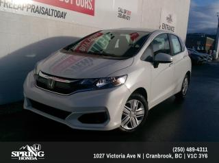 New 2019 Honda Fit LX for sale in Cranbrook, BC