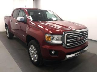 Used 2018 GMC Canyon SLT DIESEL, HEATED LEATHER, REMOTE START, REAR VISION CAMERA for sale in Lethbridge, AB