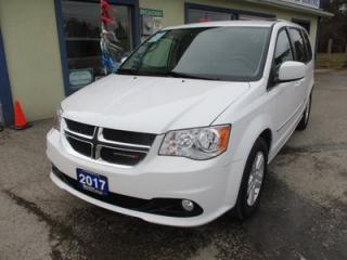 Used 2017 Dodge Grand Caravan 'LIKE NEW' CREW EDITION 7 PASSENGER 3.6L - V6.. ECON-BOOST.. CAPTAINS.. STOW-N-GO.. POWER WINDOWS.. CD/AUX INPUT.. for sale in Bradford, ON