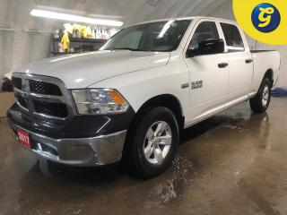 Used 2017 RAM 1500 SXT * Crew Cab * 4WD * Auto headlight * Tow hitch w/ 6 pin connect * Tow/Haul assist * Bed liner * Hill assist * Reverse camera * Power windows/mirror for sale in Cambridge, ON
