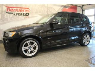 Used 2014 BMW X3 Xdrive 28i Sport Line for sale in Lévis, QC