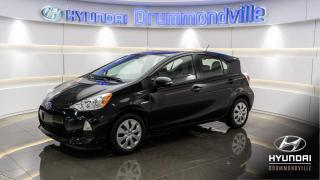 Used 2013 Toyota Prius c ONE HYBRIDE + BLUETOOTH + A/C + WOW !! for sale in Drummondville, QC