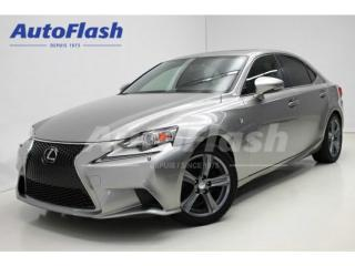 Used 2014 Lexus IS 250 F-Sport Ultra for sale in St-Hubert, QC