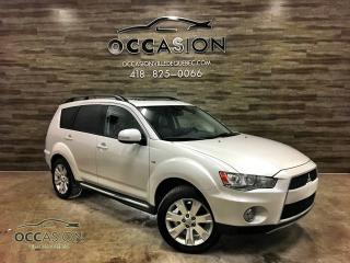 Used 2012 Mitsubishi Outlander 4wd XLS CUIR 7 PLACES for sale in Ste-Brigitte-de-Laval, QC